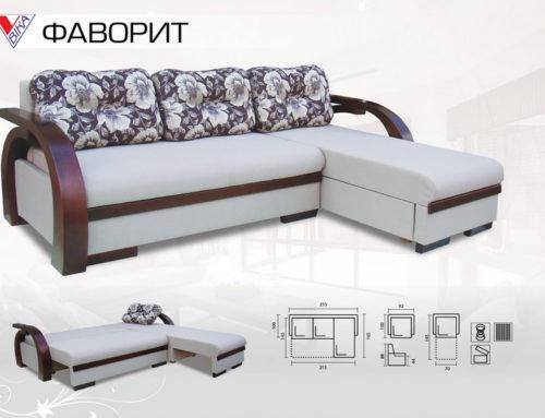 Угловой диван-кровать для городской спальни