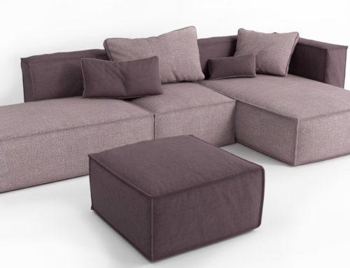 Экстремальное и нетрадиционное использование модульных диванов